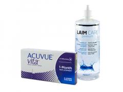 Acuvue Vita (6 φακοί) + Υγρό Laim-Care 400 ml