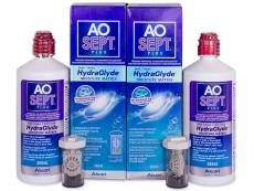 Υγρό AO SEPT PLUS HydraGlyde 2x360 ml