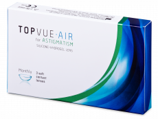 TopVue Air for Astigmatism (3 φακοί)