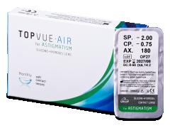 TopVue Air for Astigmatism (1φακός)