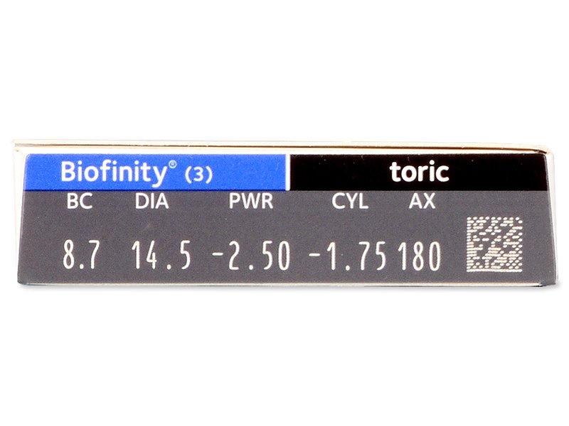 Biofinity Toric (3 φακοί)
