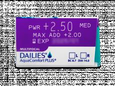 Dailies AquaComfort Plus Multifocal (90φακοί)