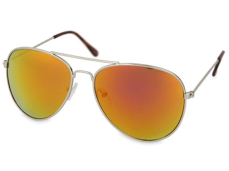 Γυαλιά ηλίου Silver Pilot  - Ροζ / Πορτοκαλί