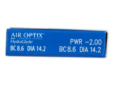 Air Optix plus HydraGlyde (6 φακοί)