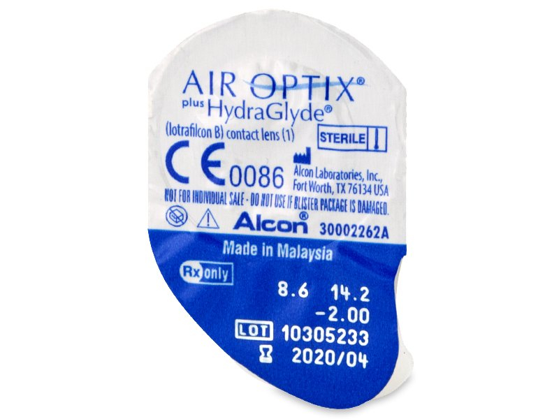 Air Optix plus HydraGlyde (3 φακοί)