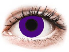 CRAZY LENS - Solid Violet - Ημερήσιοι φακοί Μη διοπτρικοί (2 φακοί)