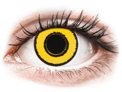 CRAZY LENS - Yellow Twilight - Ημερήσιοι φακοί Διοπτρικοί (2 φακοί)