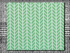 Πανάκι καθαρισμού για γυαλιά - πράσινο και λευκό σχέδιο ψαροκόκαλου