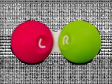 Θήκη φακών επαφής - Ροζ & πράσινη