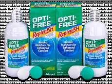 Υγρό OPTI-FREE RepleniSH 2x300ml