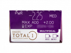 Dailies TOTAL1 Multifocal (30 φακοί)