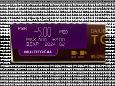 Dailies TOTAL1 Multifocal (90 φακοί)