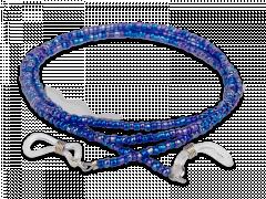 Μπλε κορδόνι γυαλιών - με χάντρες