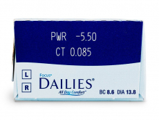 Focus Dailies All Day Comfort (30 φακοί)