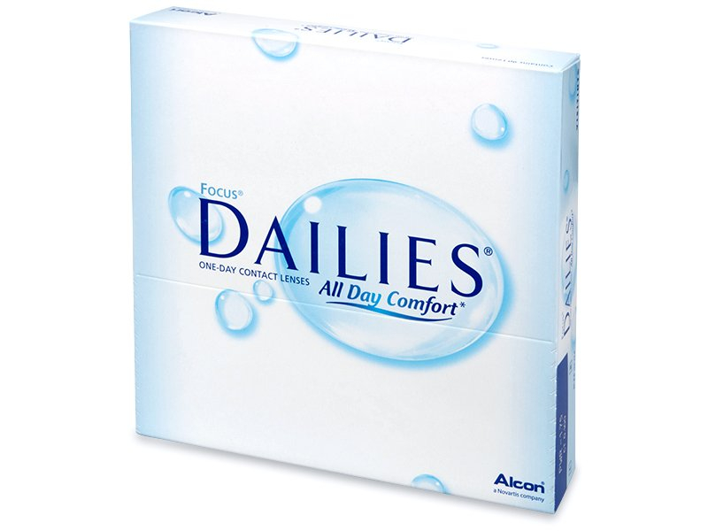 Focus Dailies All Day Comfort (90 φακοί)