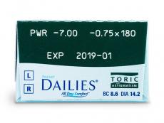 Focus Dailies Toric (30 φακοί)