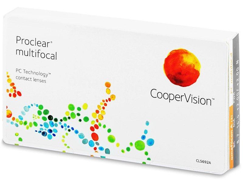 Proclear Multifocal (3 φακοί)