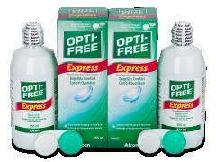 Υγρό OPTI-FREE Express 2x355ml