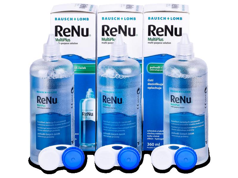 Υγρό ReNu MultiPlus 3x360ml