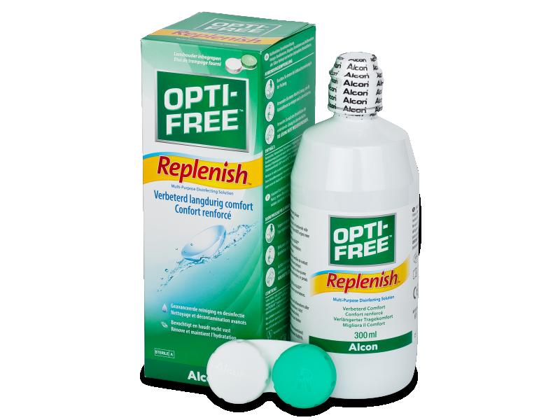 Υγρό OPTI-FREE RepleniSH 300ml