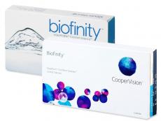 Biofinity (3 φακοί)