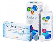 Acuvue Oasys (6 φακοί) + Υγρό Gelone 360ml
